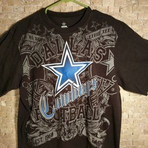 Vintage 1990's DALLAS COWBOYS Authentic T-shirt